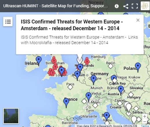 Map ISIS and Al Qaeda threats