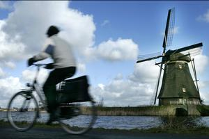 Bicycle and Windmills and Bombs