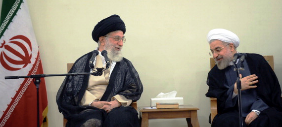 Rouhani and Khamenei Good Guy Bad Guy